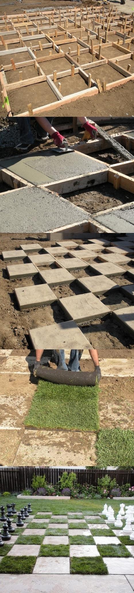 Giant Chess Board | Backyard Gardening | Scoop.it