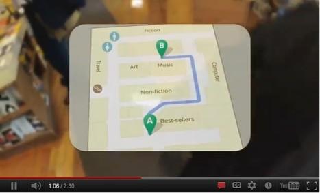 """Googles Project Glass   La """"Réalité Augmentée"""" (Augmented Reality [AR])   Scoop.it"""