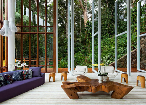 The awe inspiring style of Brazilian architecture and interior design | Carbon credits | Scoop.it