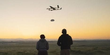 Alphabet et Chipotle vont tester la livraison par drone de burritos | Une nouvelle civilisation de Robots | Scoop.it