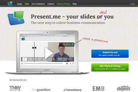 Present.me facilita la realización de presentaciones en remoto | EDUDIARI 2.0 DE jluisbloc | Scoop.it