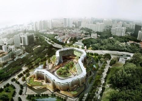 Murs maraîchers et toits fruitiers : les immeubles se muent en ... - Moniteur | potager urbain | Scoop.it