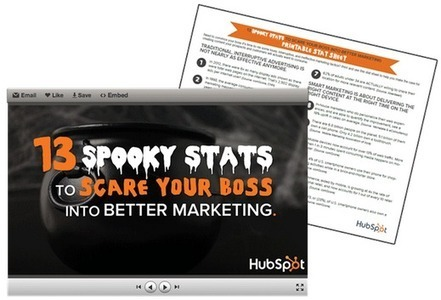 13 Spooky Stats to Scare Your Boss Into Better Marketing | The Twinkie Awards | Scoop.it