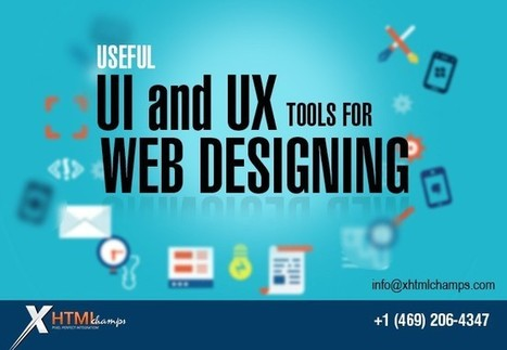Useful UI and UX Tools for Web designing | Web Design and Development | Scoop.it