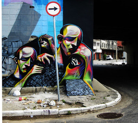 Wooster Collective: Fresh Stuff From Adam Neate On The Streets Of Brazil   World of Street & Outdoor Arts   Scoop.it
