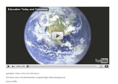 quietube: Video without the distractions   Wicked Good Educational Technology Tools 2014   Scoop.it