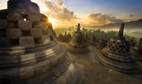 Twitter / GoogleEarthPics: Borobudur Buddhist Temple, ... | Beauty building, park, and city in asia | Scoop.it
