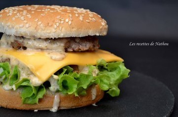 Burger Giant et sa sauce : la recette facile | Hobby, LifeStyle and much more... (multilingual: EN, FR, DE) | Scoop.it