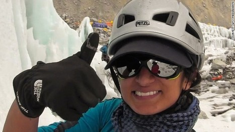 Climber Is First Saudi Woman to Scale Mount Everest | News from Arabia | Scoop.it