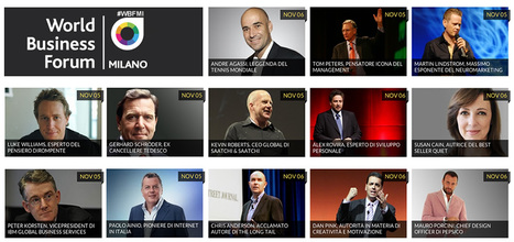 World Business Forum Milano 2013 | WOBI : World of Business Ideas | About me | Scoop.it