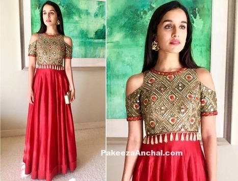 Shraddha Kapoor in a Cut-Out Jacket & Chanderi Kurta | Indian Fashion Updates | Scoop.it