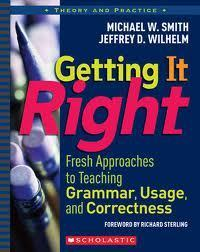 Getting it Right: Fresh Approaches in Teaching Gramman, Usage, and Correctness | E-Toolbox | Scoop.it