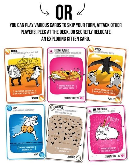 Exploding Kittens   Geek-$$   Scoop.it