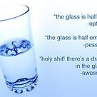 ¿Ves el vaso medio vacío, medio lleno, o con un dragón? | VIM | Scoop.it