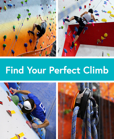 Rock Climbing: 3 Ways to Climb Your Way Fit - Life by DailyBurn | Exercise for Life | Scoop.it
