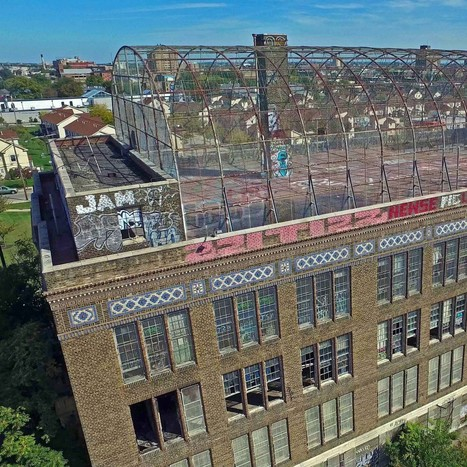 Best from Above: Drone Views of 6 Philadelphia Abandonments | Modern Ruins | Scoop.it