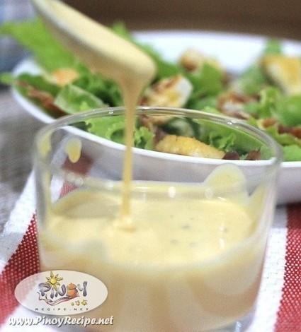 Caesar Salad Dressing Recipe | Filipino Recipes Collection | Scoop.it