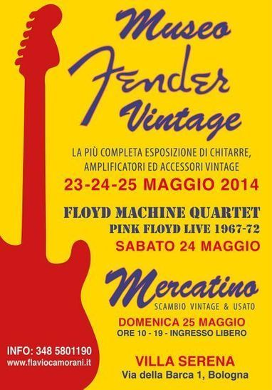 Museo Fender Vintage 2014 a Bologna | Stratocaster | Scoop.it