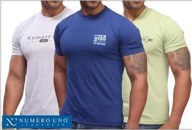 Lowest Online:Buy Numero Uno T-Shirts Pack of 3 Only @Rs. 499 - Freekaoffer-indian offers,freebies,deals,coupons | Online Shopping And Discounts | Scoop.it