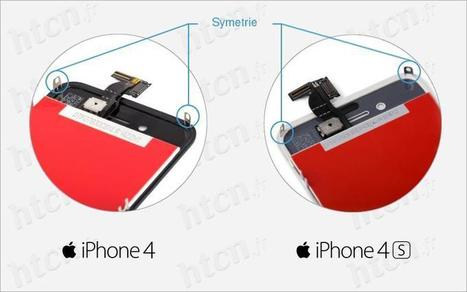 Ecran iPhone 4 / 4S comparaison - HTCN Blog | HTCN | Scoop.it