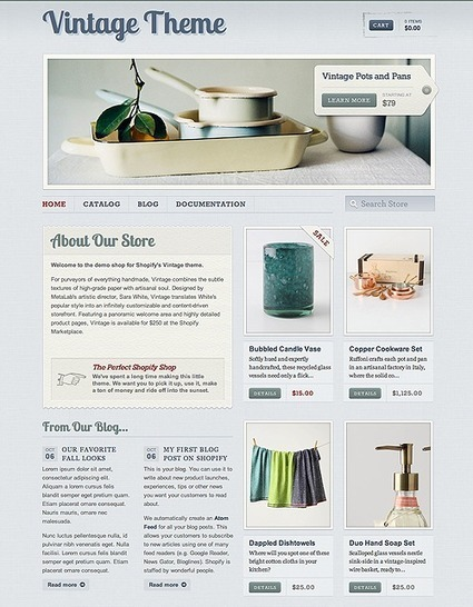 75+ Best Responsive Shopify Themes   programming   Scoop.it