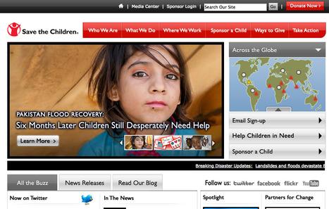 Gallery of the Best Non-Profit Websites | Kaleazy | Nonprofit websites we like! | Scoop.it