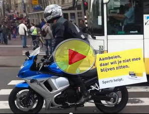 Creative Advertising video: Hemorrhoids? Sperti Helps On A Motorcycle | Ductalk | Scoop.it