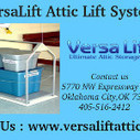 You need a system that will take care of the pesky heavy lifting that goes along with cleaning up the garage or basement.   Versa Lift Attic Lift System   Scoop.it