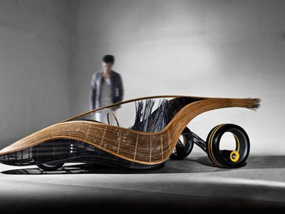Sleek Bamboo Concept Car Is Woven, Not Factory-Made - Treehugger | What Surrounds You | Scoop.it