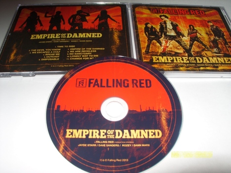 Falling Red ~Empire of the Damned (feat. Rozey, Jayde Starr, Dann Marx & Dave Sanders) | itunesreviews.com with KIDKEL69 | Scoop.it