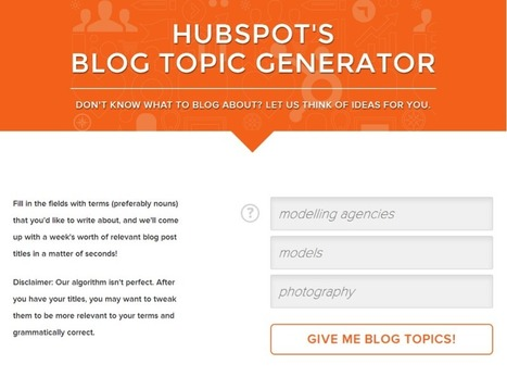 5 Best Tools for Generating Blog Topic Ideas | SEO | Scoop.it