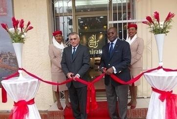 Transport aérien : Emirates inaugure son bureau à Conakry - guinee7 | TOURISME GUINEE | Scoop.it