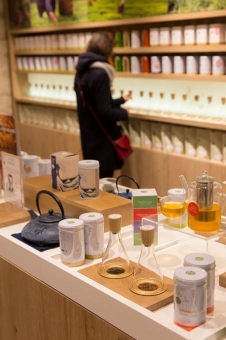 The Palais des Thés boutiques in Paris by Ova Design | Presse et actus de l'agence Ova Design | Scoop.it