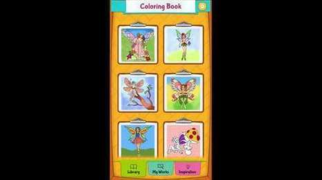 Fairy Coloring Pages – Windows Apps on Microsoft Store | Windows Phone Apps and Games | Scoop.it