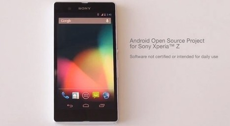 Sony posts its first AOSP build for the Xperia Z (video) - Engadget | USF Film and Video | Scoop.it