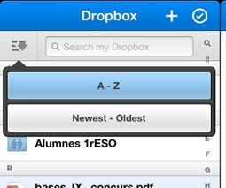 Nova actualització de Dropbox per iPad | iPad classroom | Scoop.it