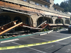 Awning at Rancho Penasquitos strip mall collapses - 10News   Awning Information   Scoop.it