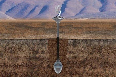 Cette éolienne ne produit pas d'électricité… Elle fabrique de l'eau potable ! | Réhabilitation de décharges et friches industrielles - Environnement et Ecologie | Scoop.it