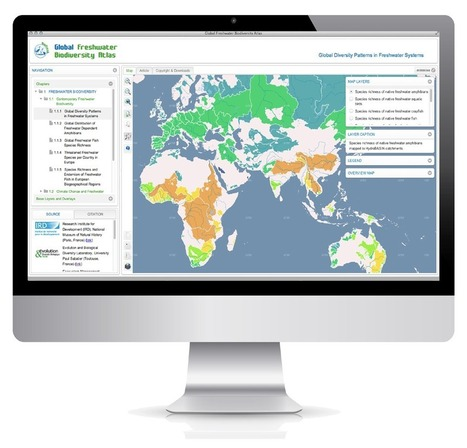 Launch of the first online Global Freshwater Biodiversity Atlas | our biodiversity | Scoop.it