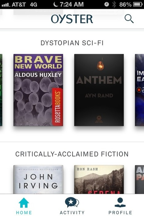 Our dream library: Unlimited e-books for less than $10 a month | Educational Technology - Yeshiva Edition | Scoop.it