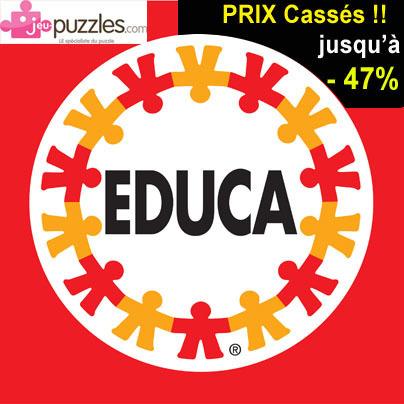 Grande Claque sur les prix des puzzles Educa : jusqu'à -47% de remise chez jeu-puzzles.com | Jeux store | Scoop.it
