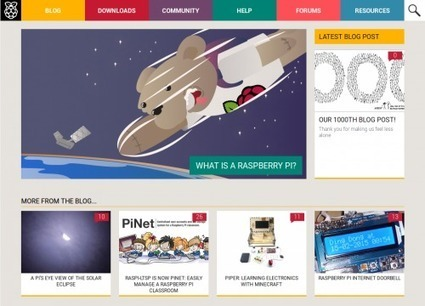 Our 1000th blog post! | Raspberry Pi | Scoop.it