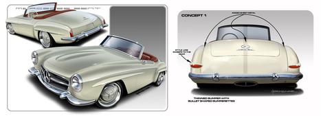 hotrodscustomstuff.com | Mercedes Bent | Classic Mercedes | Scoop.it