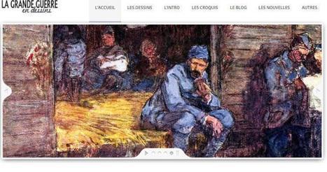 Site du jour (193) : La Grande Guerre en dessins | CGMA Généalogie | Scoop.it