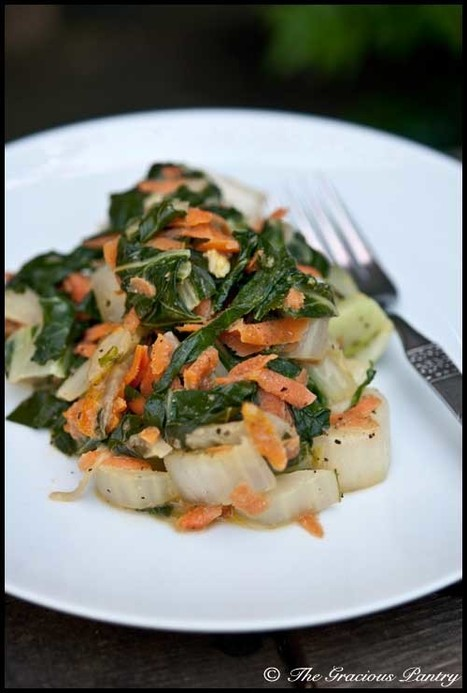 Clean Eating Recipes | Clean Eating Coconut Bok Choy | FIT for Success | Scoop.it