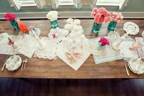 Une décoration de table pour la saint Valentin - DIY Déco | Décoration de Mariage, Baptême et déco de table | Scoop.it