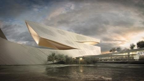 Architecture : la future bibliothèque hors norme de Dalian | Monde des bibliothèques | Scoop.it