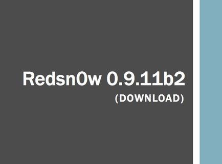 Download Redsn0w 0.9.11b2: Neue Version veröffentlicht – iPhone 4S (9A406) Unterstützung | Digital-News on Scoop.it today | Scoop.it