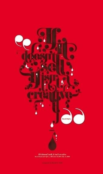 20 Design Quotes Visualized Using Typographic Design | Visual Loop Inspiration | Scoop.it