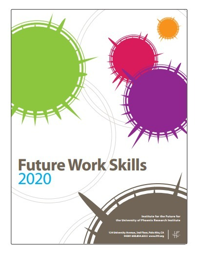 The University of Phoenix Research Institute Report on Future Work Skills 2020 | New-Tech Librarian | Scoop.it